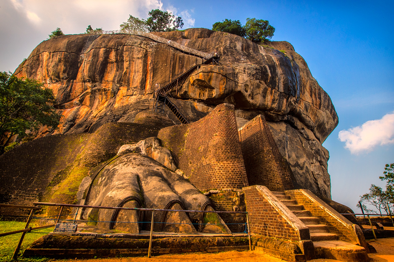 2 Weeks Holidays Sigiriya Rock Fortress