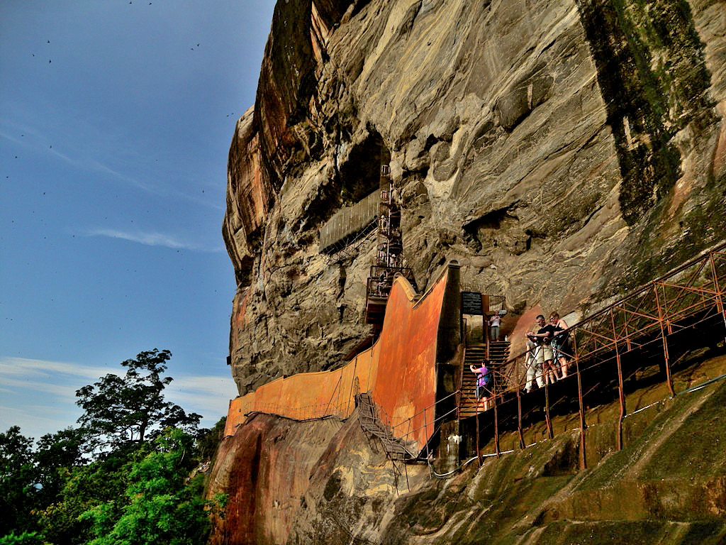 Sigiriya Mirror Wall in 14 Days Tour