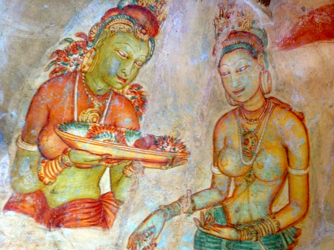 14 Days Tour Package Sigiriya Paintings