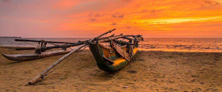14 Days Tour Itinerary Sunset Negombo