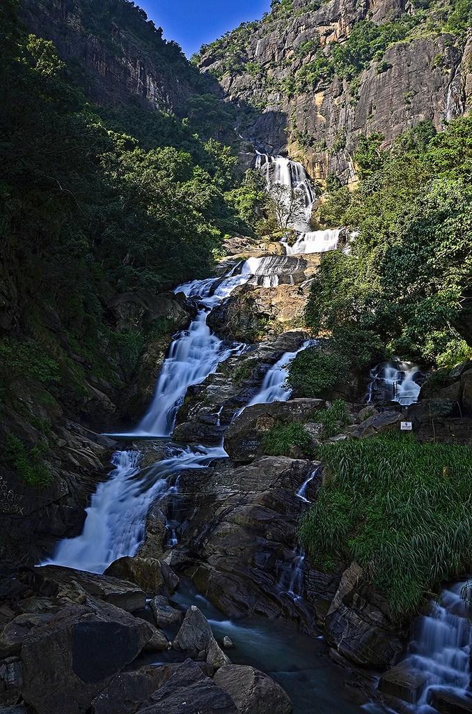 2 Weeks Sri Lanka Itinerary Rawana Falls